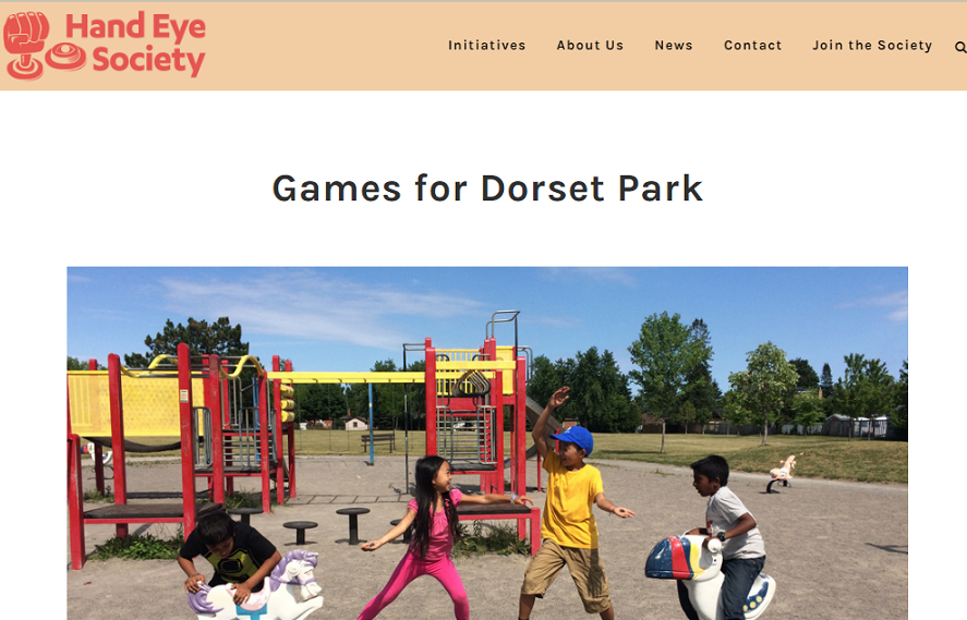 Hand Eye Society: Games for Dorset Park